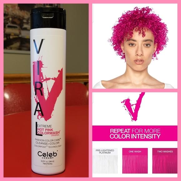 Pink Celeb Luxury Viral Colorwash Shampoo